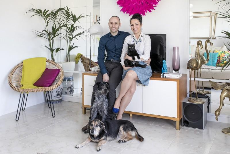 Houzz - En casa de... Marc&Cèlia: blogeros de Antic&Chic